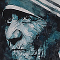 Mother Teresa by Paul Lovering