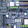 Motherboard Abstract 20130716 P38 by Wingsdomain Art and Photography
