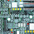 Motherboard Abstract 20130716 by Wingsdomain Art and Photography