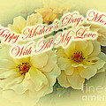 Mother's Day Card - Yellow Roses by Mother Nature