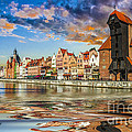 Gdansk Motlawa River- Poland by Zbigniew Krol