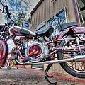 Moto Guzzi Classic by Britt Runyon