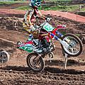 Motocross Rider by Roy Pedersen