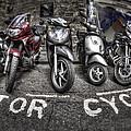 Motor Cycles by Evelina Kremsdorf