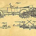 Motor Driven Sleigh Support Patent Drawing From 1915 1 by Samir Hanusa