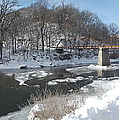 Motor Mill Winter Pano by Bonfire Photography