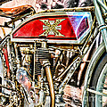 Motorcycle - 1914 Excelsior Auto Cycle by Paul Ward