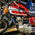 Motorcycle - 1974 Honda Cl 125 Scrambler Classic by Paul Ward