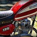 Motorcycle - 1974 Honda Cl 125 Scrambler by Paul Ward