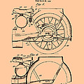 Motorcycle Patent 1925 by Mountain Dreams