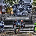 Motorcycle Rally 4 by Steve Purnell