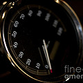 Motorcycle Speedometer by Wilma  Birdwell