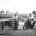 Motorcycles Set Golf Record by Underwood Archives