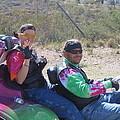 Motorcyclists Helldorado Days Parade Tombstone Arizona 2004 by David Lee Guss