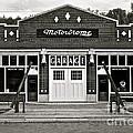 Motordrome Garage by Linda Bianic