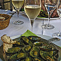Moules And Chardonnay by Allen Sheffield