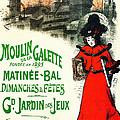 Moulin De La Galette by Charlie Ross