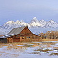 Moulton Barn by Floyd Tillery