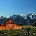 Moulton Barn by Nancy Wolfe