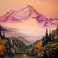Mount Baker Morning by Sherry Shipley