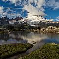 Mount Baker Skies Reflection by Mike Reid