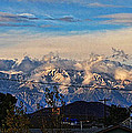 Mount Baldy On A New Years Eve by Tommy Anderson