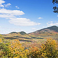 Mount Blue State Park In Fall Weld Maine by Keith Webber Jr