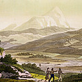 Mount Cayambe, Ecuador, From Le Costume by Friedrich Alexander, Baron von Humboldt
