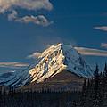 Mount Edith Cavell - Alberta by Pete Hemington