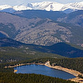 Mount Evans And Echo Lake by Steve Krull