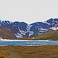 Mount Evans And Summit Lake by Gary Holmes