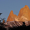 Mount Fitz Roy At Sunrise by Michele Burgess
