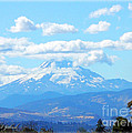 Mount Hood In The Clouds by Michael Johnk