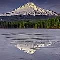 Mount Hood Reflections by Rick Berk