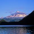 Mount Hoods Looms Over Lost Lake  Hood by Robert L. Potts