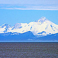 Mount Iliamna Across Cook Inlet From Ninilchik-alaska by Ruth Hager
