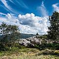 Mount Lovstakken by Hakon Soreide