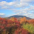 Mount Monadnock From Gap Mountain In Autumn by John Burk