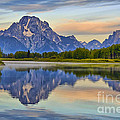 Mount Moran At Sunrise by Teresa Zieba