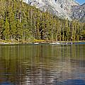 Mount Moran String Lake Grand Teton National Park by Fred Stearns