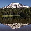 Mount Rainier Reflection Lake by Lee Kirchhevel