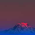 Mount Rainier Sunset by David Patterson
