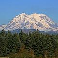 Mount Rainier Washington by Tom Janca