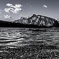 Mount Rundle @ Two Jacks  by Maik Tondeur
