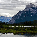 Mount Rundle And Vermilion Lake by Jordan Blackstone