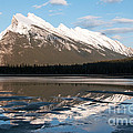 Mount Rundle Reflections by Vivian Christopher