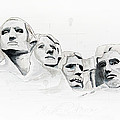 Mount Rushmore by Astrid Rieger