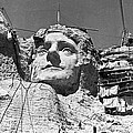 Mount Rushmore In South Dakota by Underwood Archives