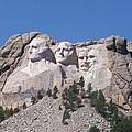 Mount Rushmore  by Joan Shiffler