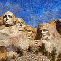 Mount Rushmore Monument Photo Art by Thomas Woolworth